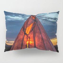 Southwestern Teepee Sunset Pillow Sham