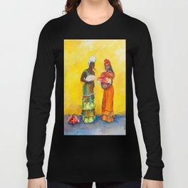 Flower Ladies Long Sleeve T-shirt