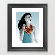 model 5 Framed Art Print