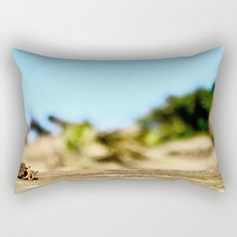 Journey of the Hermit Crab Rectangular Pillow