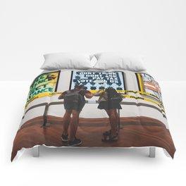 Exhibit Closed Comforters