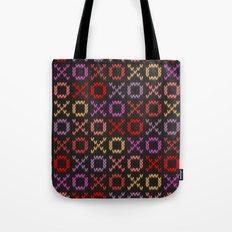 XOXO pattern - dark Tote Bag