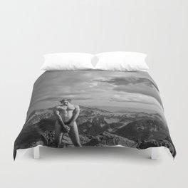 Mountain Son Duvet Cover