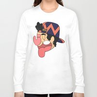 hat Long Sleeve T-shirts featuring hat by Julian Ybarra
