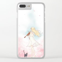 Spring Breeze Clear iPhone Case