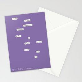 Blackout Poem {014.} Stationery Cards