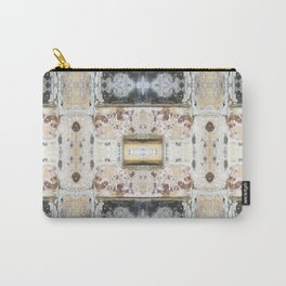 176 - Vintage bricks pattern Carry-All Pouch