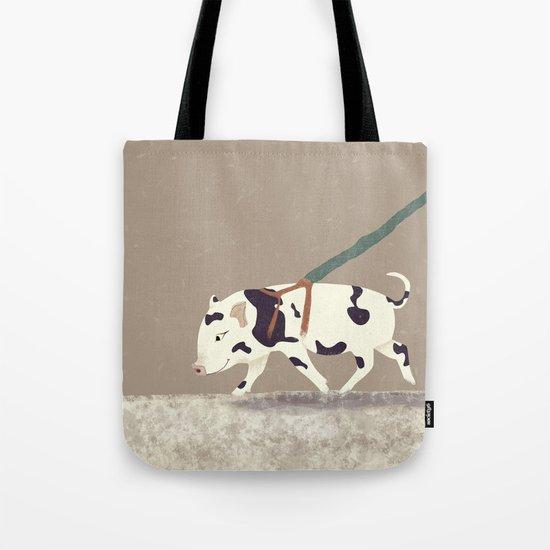 Baby Pig Original Design Tote Bag