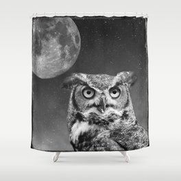 Hunters Moon Shower Curtain