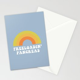 Freeloadin' Pancreas Stationery Cards