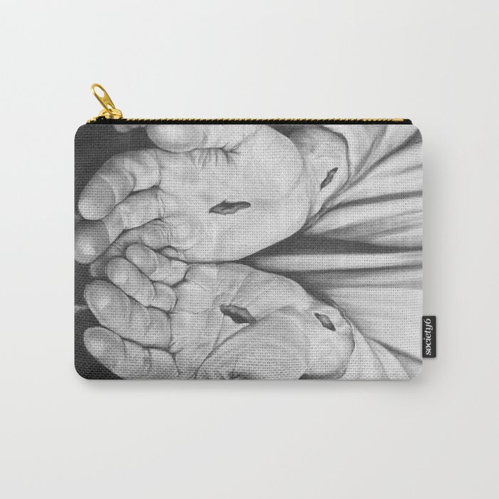 Jesus Hands Carry-All Pouch