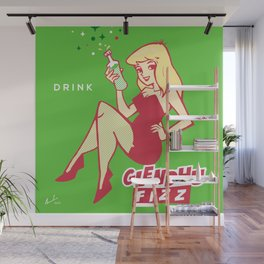 Sour Apple Wall Mural