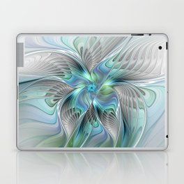 Abstract Butterfly, Fantasy Fractal Art Laptop & iPad Skin