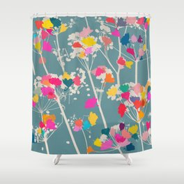 cow parsley 1 Shower Curtain