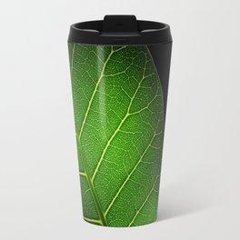 Texture leaf Travel Mug