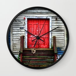 The Last Parishioner Wall Clock