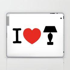 I LOVE LAMP Laptop & iPad Skin
