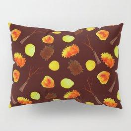 Autumnal brown pattern Pillow Sham