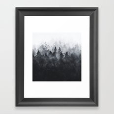 The Heart Of My Heart // Midwinter Edit Framed Art Print