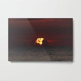 fort lauderdale sun rise up close Metal Print