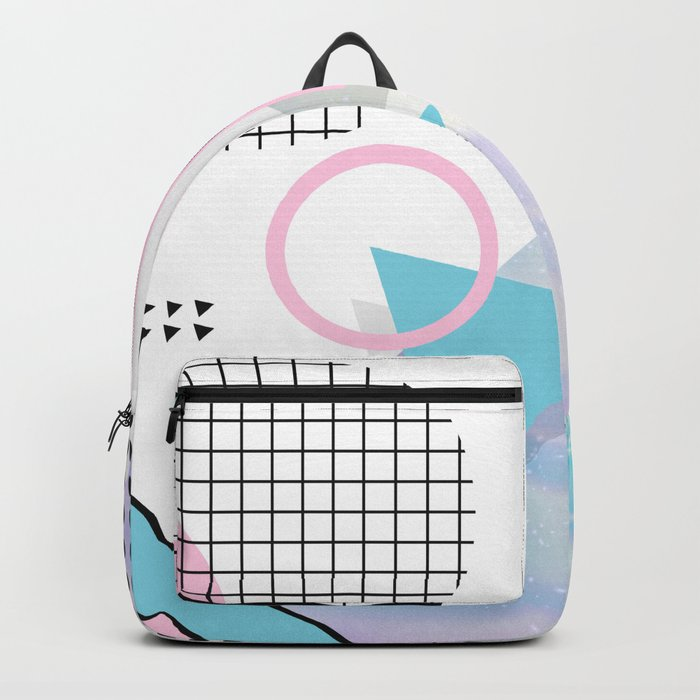 Memphis Pastels Backpack