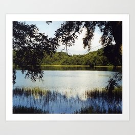 Gormire Lake SLR Photo Art Print