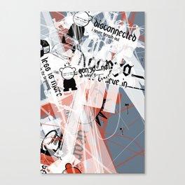 Gonzos Coded, Remixed. 2007_series03_shot02 Canvas Print