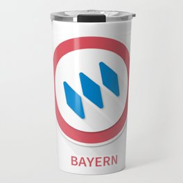 Bayern Munich Smooth Logo Travel Mug