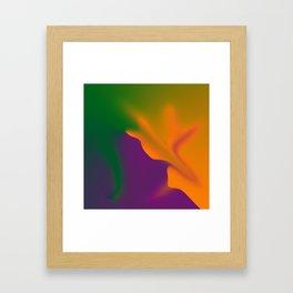 Aura Inflation Framed Art Print