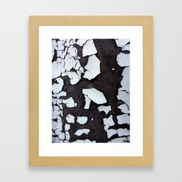 Torn Up Framed Art Print