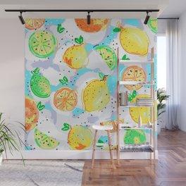 Lemon Crush ( original ) Wall Mural