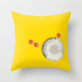 Look, what grows here Throw Pillow