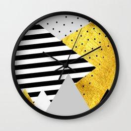 fall abstraction #4 Wall Clock
