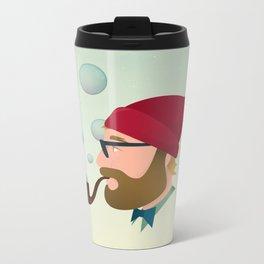 Soap bubble Hipster Metal Travel Mug