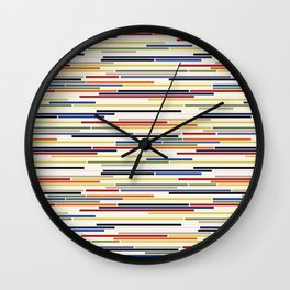 Stroke Wall Clock