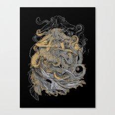 Octolady Canvas Print