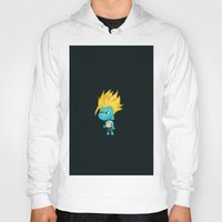 gumball Hoodies featuring Black SSJ Gumball by Miles Cameron