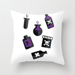Poison Throw Pillow