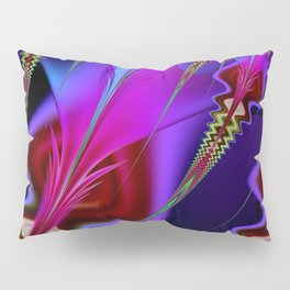 Psychedelia Abstract Fractal Pillow Sham