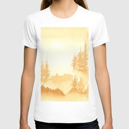 Trees in the mist T-shirt