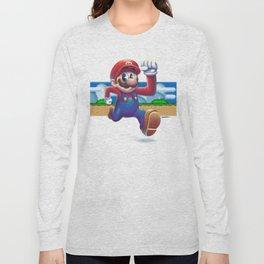 Super Mario - Retro Games Long Sleeve T-shirt