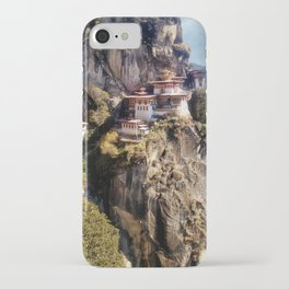 Taktshang Goemba - Tiger's Nest Monastery iPhone Case