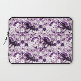 Swedish Candy Garden- Grape Laptop Sleeve