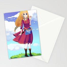 Princess Zelda - Skyward Sword Stationery Cards