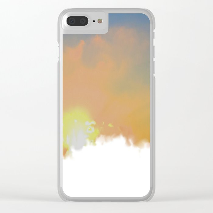 Sunset Lake Murray, La Mesa, California (Copyright) Clear iPhone Case