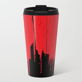 Paint it Red Metal Travel Mug