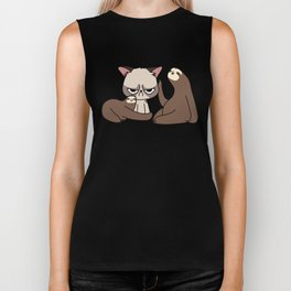 A Hug a Day Keeps the Grumpiness Away Biker Tank