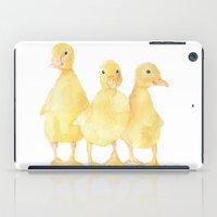 onesie iPad Cases featuring Ducklings by Susan Windsor