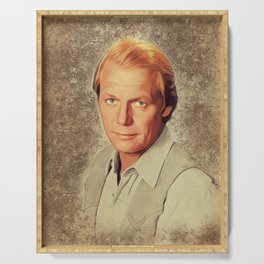David Soul, Actor and Singer Serving Tray