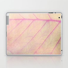 Pink Leaf Abstract Laptop & iPad Skin
